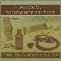 medical brushes by chokingonstatic