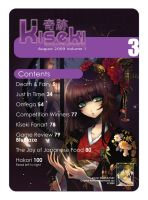 Kiseki Issue 3 Contents Page by KisekiManga