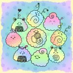 Kawaii Sushi Brushes by strawberryblossoms03