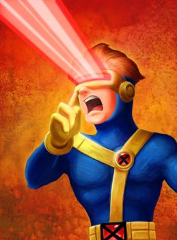 Superhero Squad - Cyclops by Lynntendo
