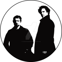 Sherlock and John by favoritedarkness