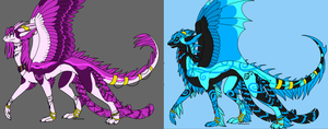 dragon adoptables .:OPEN:. by the-fullmetal18