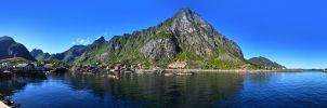 A i Lofoten Panorama 1 by TheMetronomad
