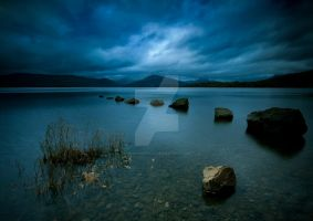 Loch Lomond Twilight II by ArwensGrace