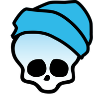 Skullete for Invisi Billy - coloured version by ThestralWizard
