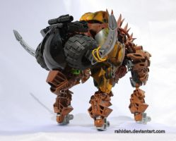 Bionicle PokeMOC: Bouffalant by Rahiden