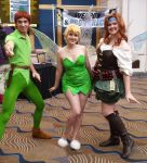 Peter Pan and the Pixies by DartFeld