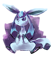 Glaceon by sweating