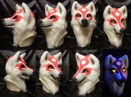 Amaterasu Okami head by DrakonicKnight