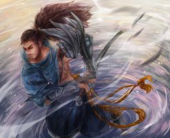 LoL: Face the Wind by Fiveonthe