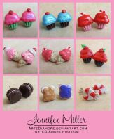 Sweet Treats Earrings by ArteDiAmore