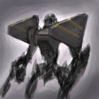 Mech Painting3 Quickie by dimodee