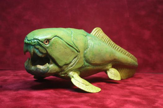 Dunkleosteus sculpt 2 by stablefly