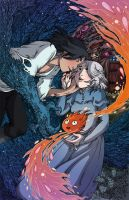 Fire and Feathers - Howl's moving castle by secondlina