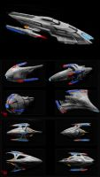 possible star fleet ships? by mikemars