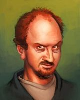 Louis C.K. by bonvillain