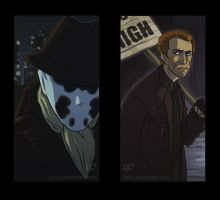 Watchmen mockbookmark: Rorschach by eve-bolt