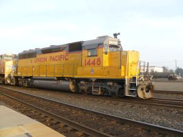 UP GP40-2 1448 by BNSF