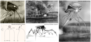 ''The War of The Worlds'' Concept Art by Sketchy-raptor