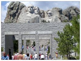 Mount Rushmore by Xwinger