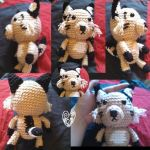Crochet Lynx by JoellesMidnightDream