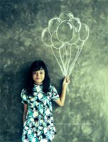 balloon I by peppermintsugar
