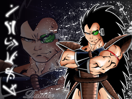 Raditz in Color by Kid-Destructo
