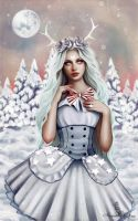 Porcelain heart by Anna-Marine