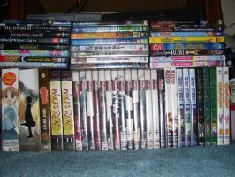 My anime DVD collection by Haileyjo13