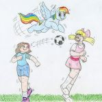 MLP and Nicktoons - Rainbow Dash by Jose-Ramiro