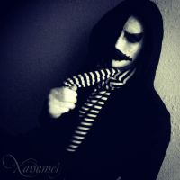 Creepypasta Kagekao Demo-Cosplay by xanamei-chan