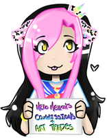 New Commission Banner by NekoMellow