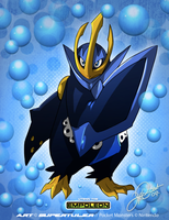 Utenn the Empoleon by super-tuler