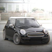 Mini Cooper Render Test by automatte