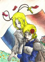Jeanne and France by ChillyAcademicIV