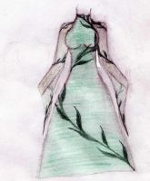 Dress design2: Earth by Oni-no-Willow