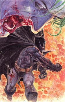 Batman VS Joker by ardian-syaf