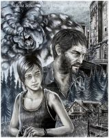 Last of us - Look for the light by Hollow-Moon-Art