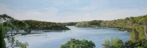 Georges River View by FredaSurgenor