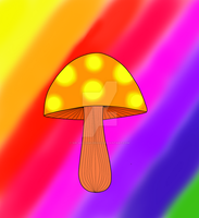 Hippie Shroom by Sir-William-Drake