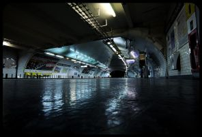 Metro, Paris by fL0urish