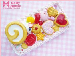 iPhone 4 case -Adorable Sweets- by Dolly House by SweetDollyHouse