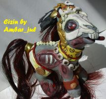 little pony custom Cizin by AmbarJulieta