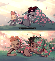 Steven Universe Screencap Redraw by sharkie19