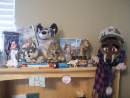 Balto Shelf Collection by CanineCanvas