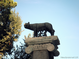 Romulus and Remus by MiserySyndromex3