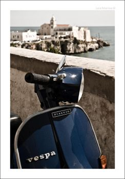 Vespa and Vieste by recycleit