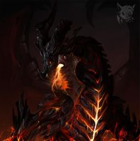 Deathwing // Neltharion by SpyxedDemon