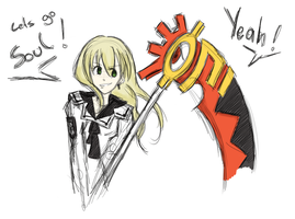Five Years Later - Soul and Maka by KeksFanxXx