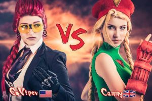 C Viper vs Cammy White by MeganCoffey